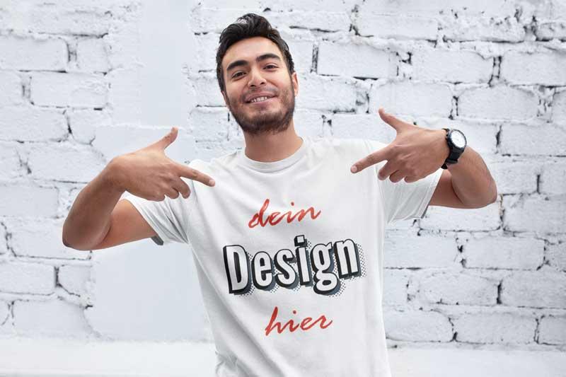 the best attitude 0046b ebcfd T-Shirt bedrucken & gestalten - ab 10.99 CHF | Schweiz