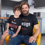 Vater mit Sohn - Geschenkidee für Papap oder Sohn - TeeFarm Schweiz
