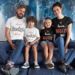 Geschenkidee für die ganze Familie - TShirt Druck TeeFarm Schweiz