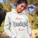 Frauen Pullover bedrucken TeeFarm Schweiz