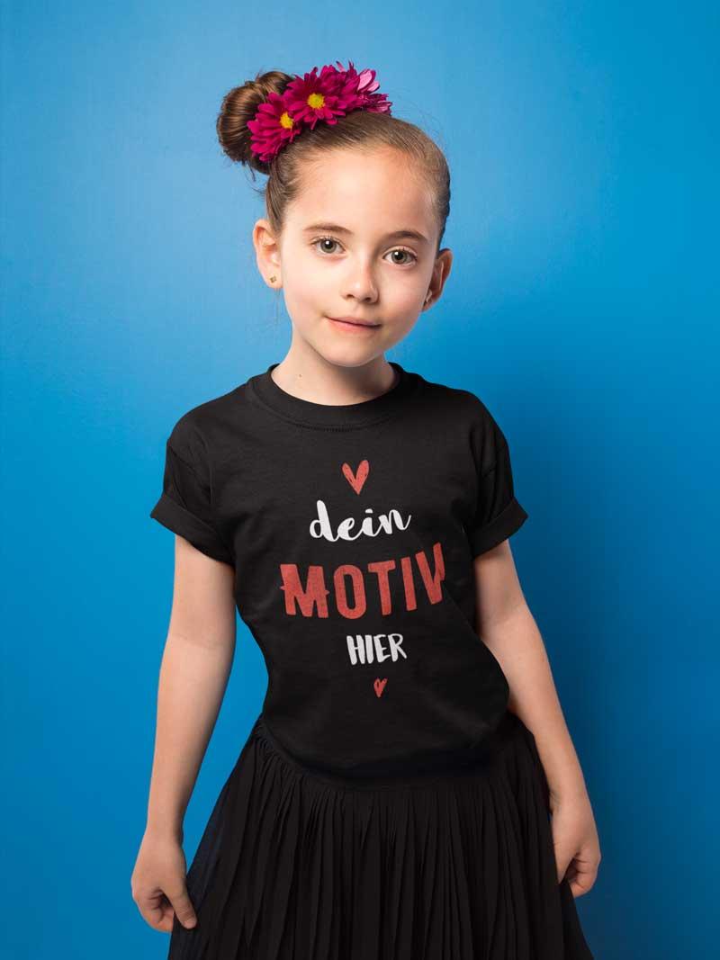 T-Shirt bedrucken für Mädchen - TeeFarm Schweiz