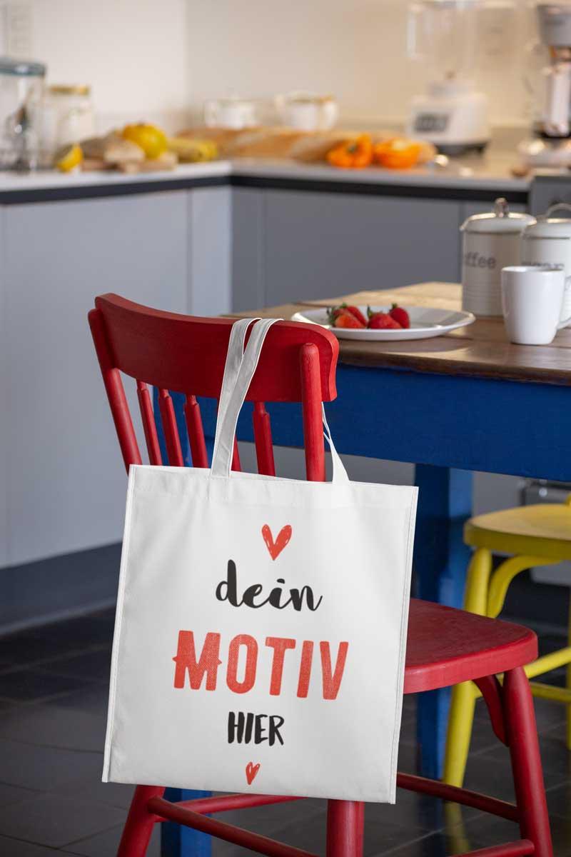 Stofftaschen bedrucken lassen auf TeeFarm Schweiz
