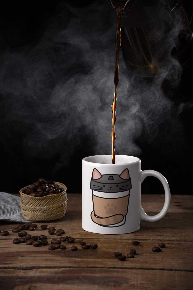 Kaffee Tassen zum bedrucken teefarm schweiz