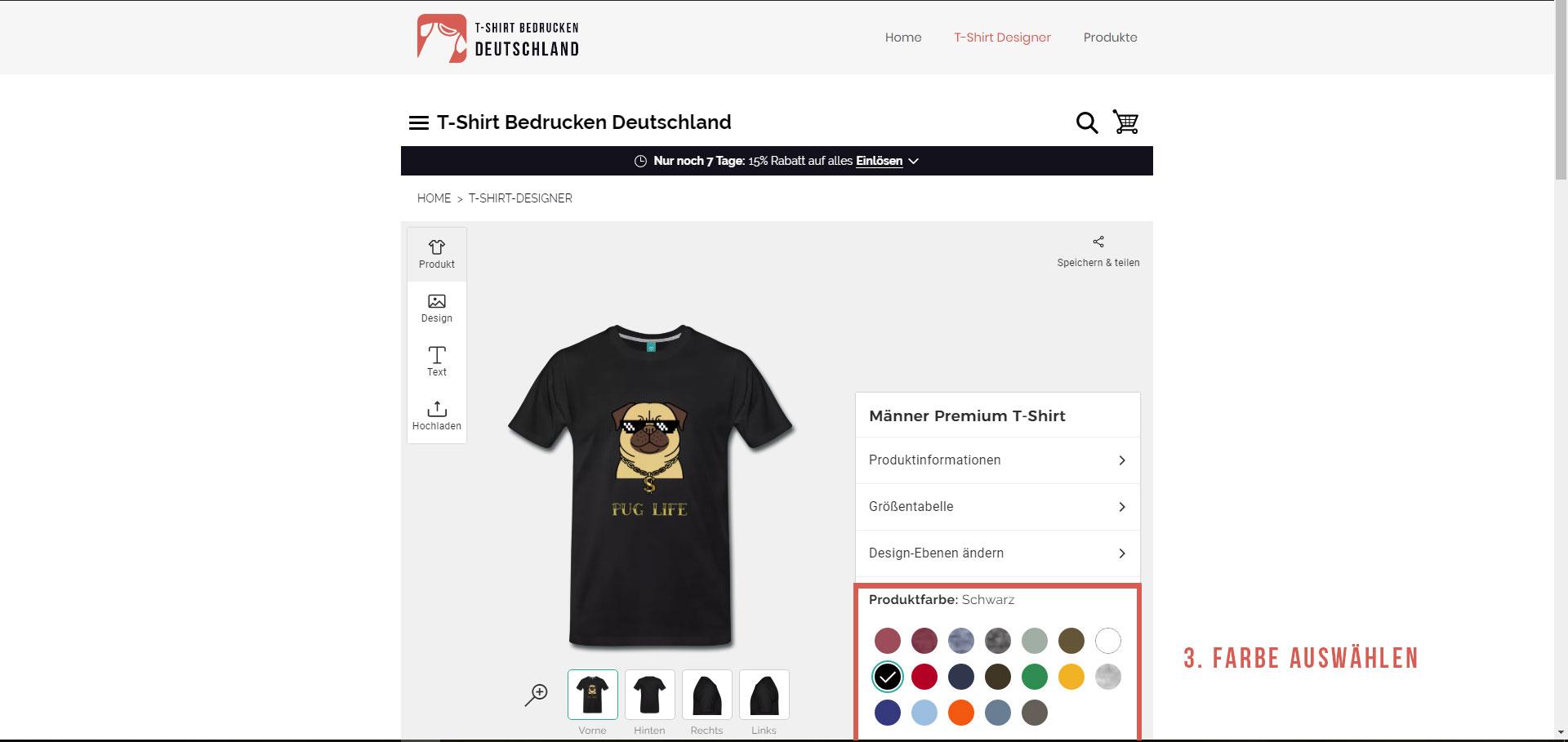 Wie kann ich ein T-Shirt selber gestalten?