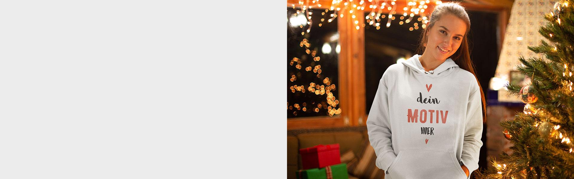 Pullover selbst gestalten als Weihnachtsgeschenk