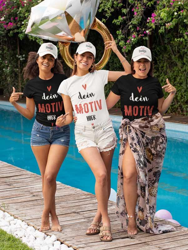 Junggesselinnenabschied T-Shirts bedrucken