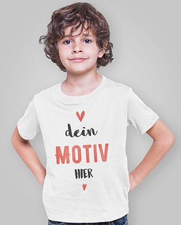 Kinder T-Shirt bedrucken auf TeeFarm
