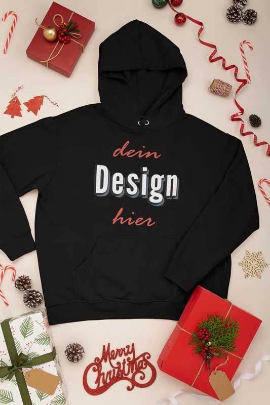 Pullover bedrucken als Weihnachtsgeschenk