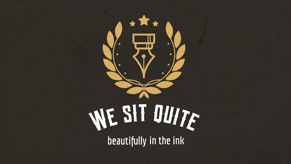 denglisch - we sit quite beautifuly in the ink