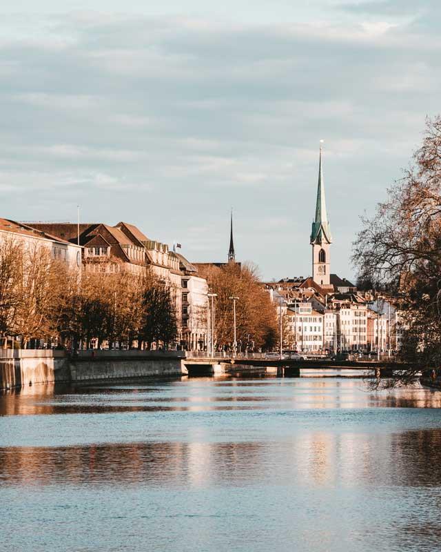 Zürich Fluss
