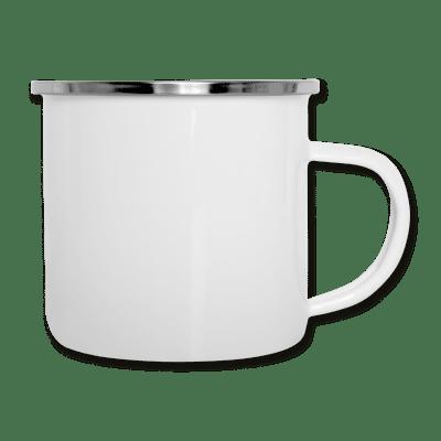 Emaille-Tasse