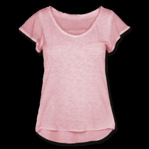 Frauen T-Shirt mit Flatterärmeln