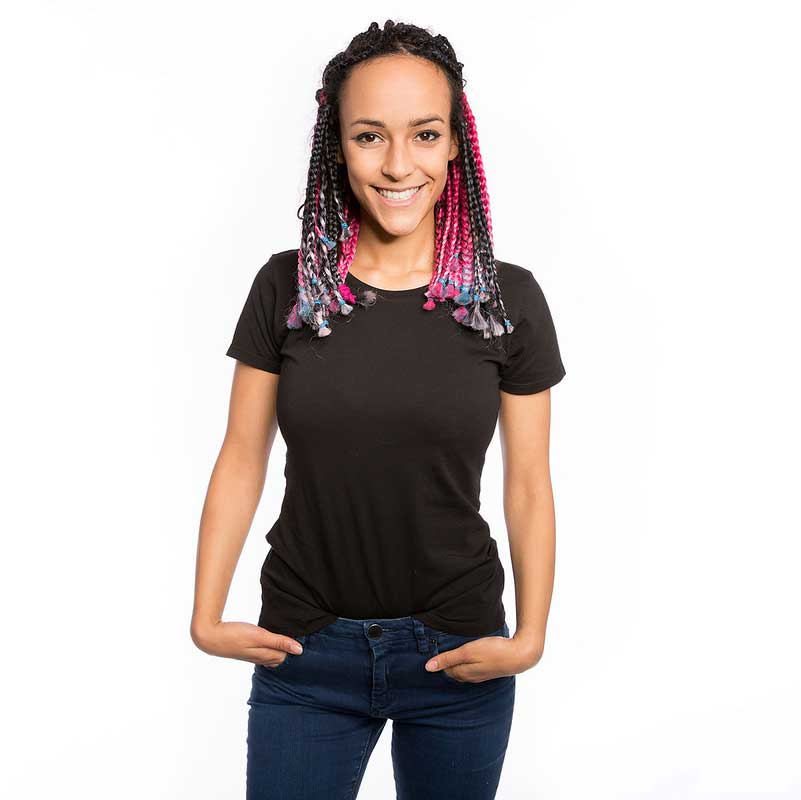 Frauen Premium T-Shirt schwarz