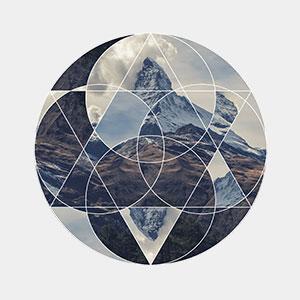 Schweizer T-Shirt Matterhorn von TeeFarm