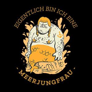 meerjungfrau cooles tshirt