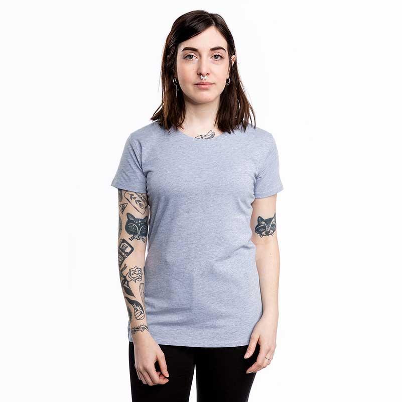 Frauen Premium T-Shirt grau
