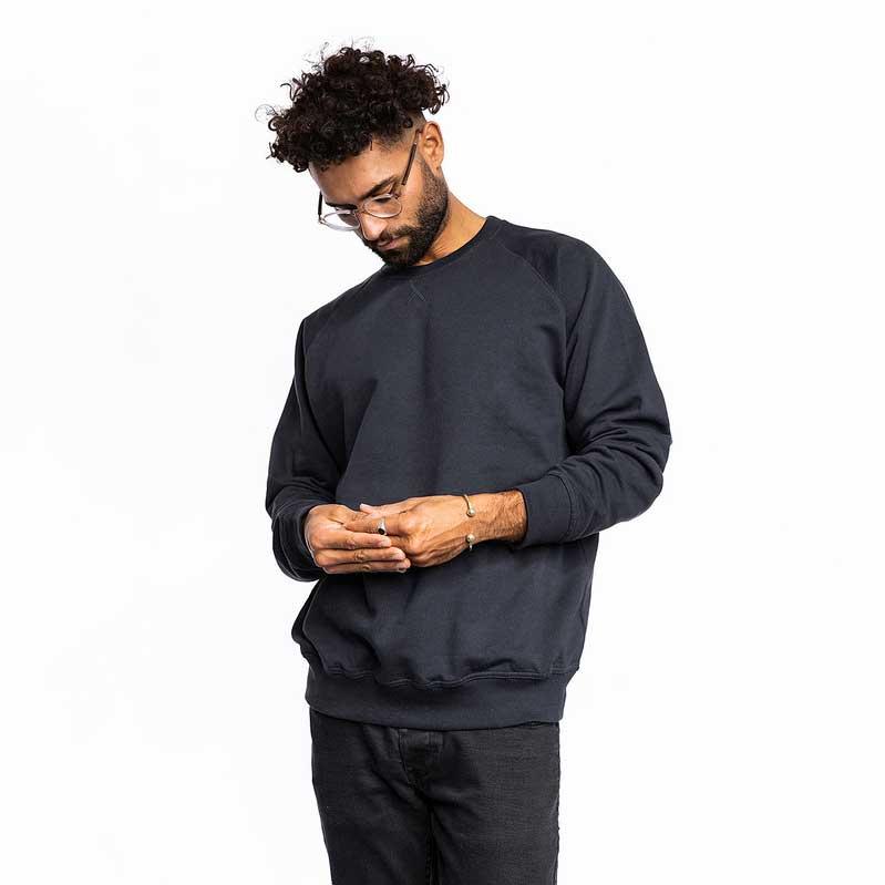 Männer Premium Pullover schwarz