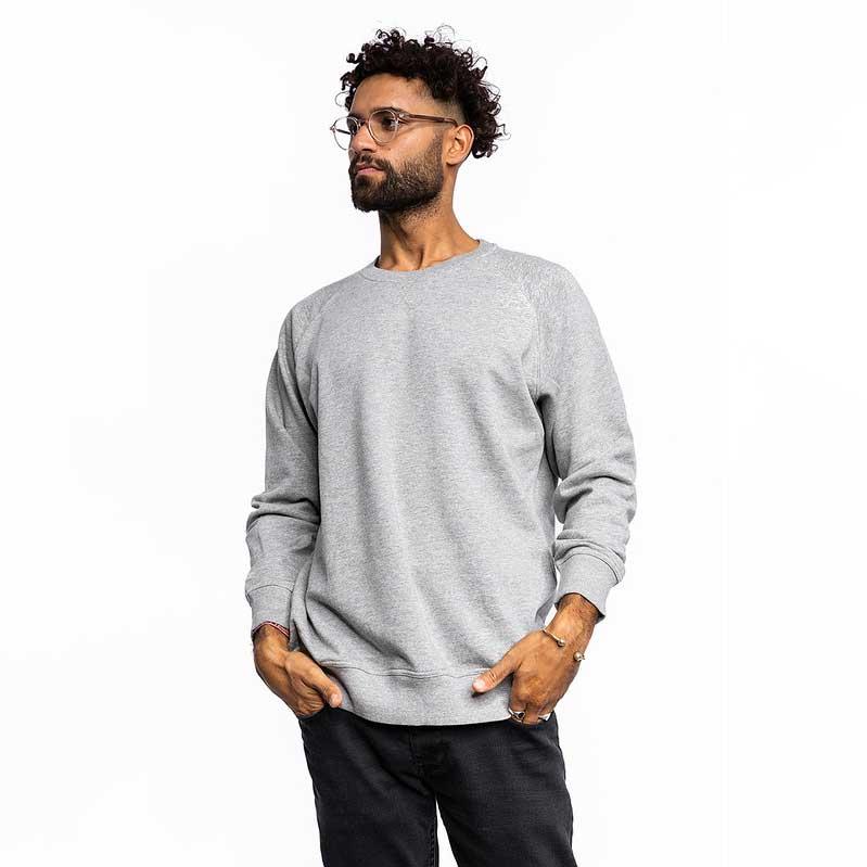 Männer Premium Pullover grau