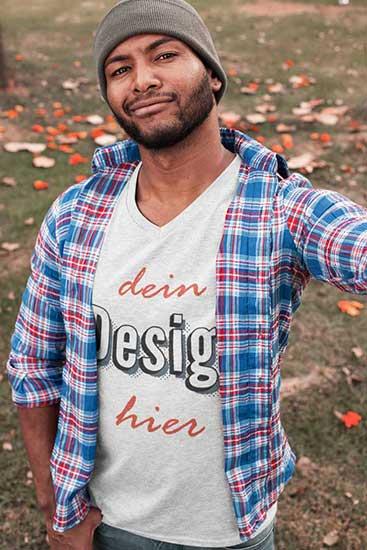 T-Shirt druck für männer