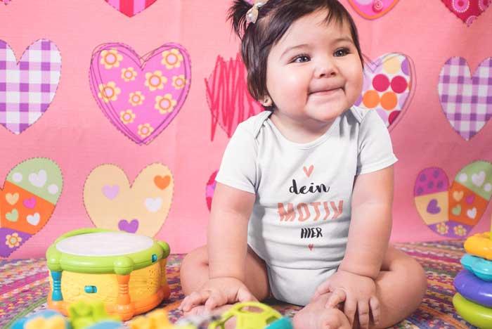 Personalisierte Geschenke für Babys Mädchen von TeeFarm